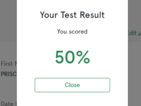 NPower NASIMS Test Score 2021